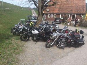 Landgasthof Steirerwirtin in Stein AR von aussen Töff-Tour